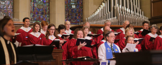Men's Chorus: Sunday, October 25