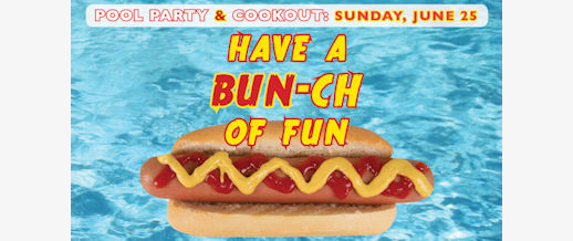 Grace Cook-Out and Pool Party: June 25
