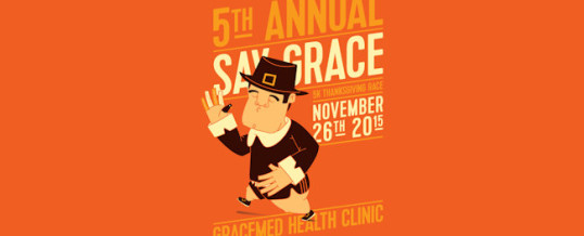 Race with Grace, Then Feed Your Face! November 26, 2015