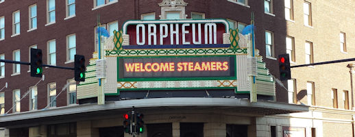 Steamer Group at the Orpheum