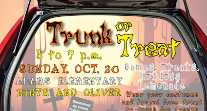 Trunk or Treat Hits the Street